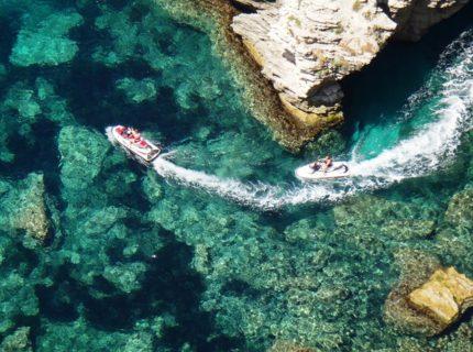 Jetski-Verleih Piratenabenteuer Korsika