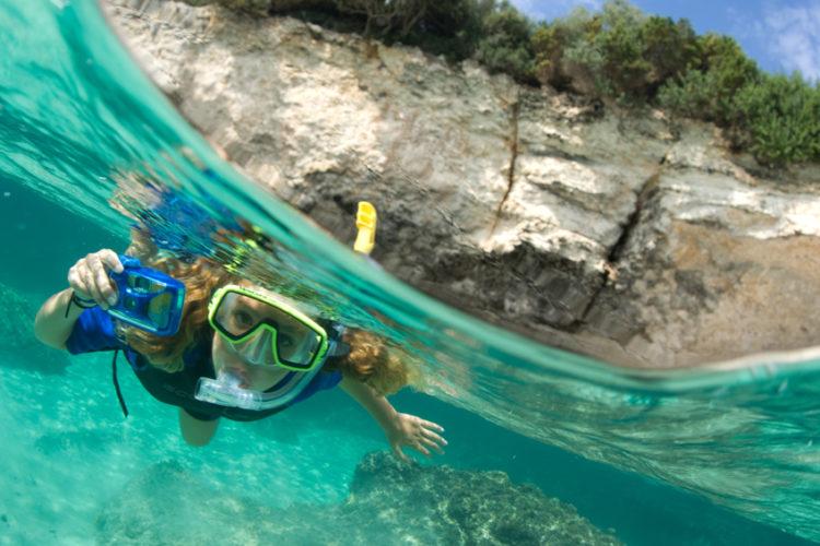 Plage, Canetu, turquoise, Bonifacio, Corse