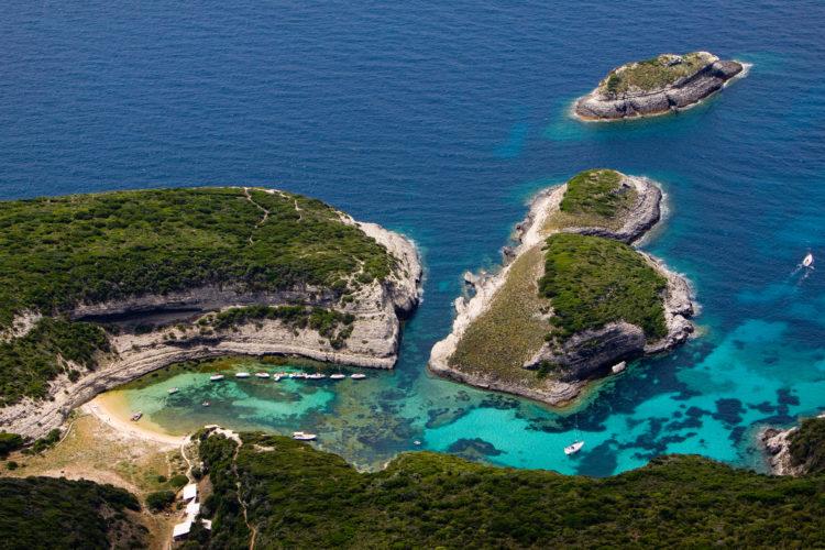 Plage, Fazzio, turquoise, Bonifacio, Corse