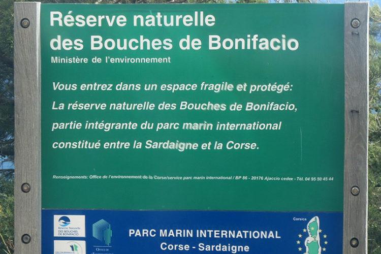 Plage, Paragan, réserve naturelle, Bonifacio, Corse