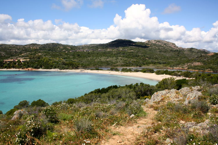 Plage, Rundinara, sauvages, Bonifacio Corse