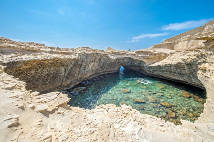 Plage, Sant'Antonio, paysage lunaire, Bonifacio, Corse