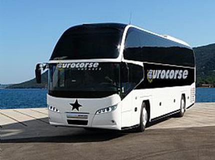 Ligne de bus Bonifacio<->Ajaccio