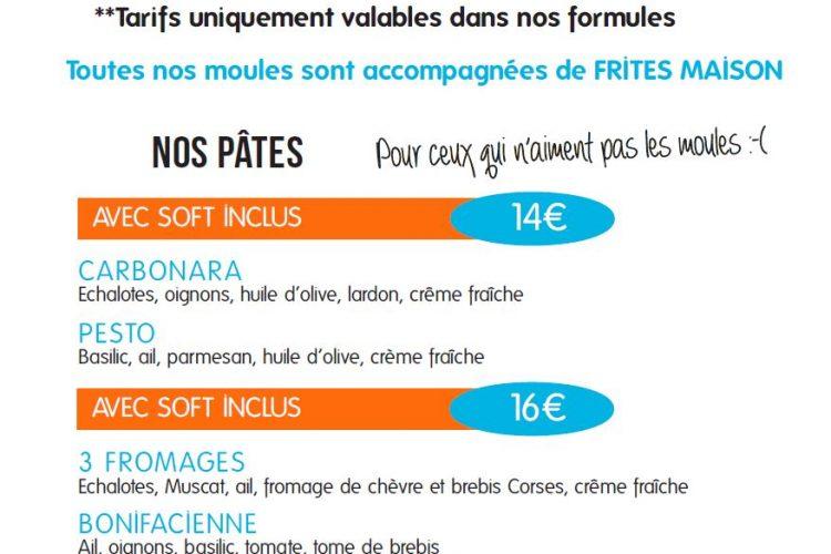 Minute, moule, Corsica, Bonifacio, restaurant, repas