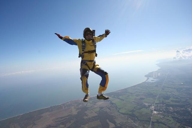 saut en parachute bonifacio