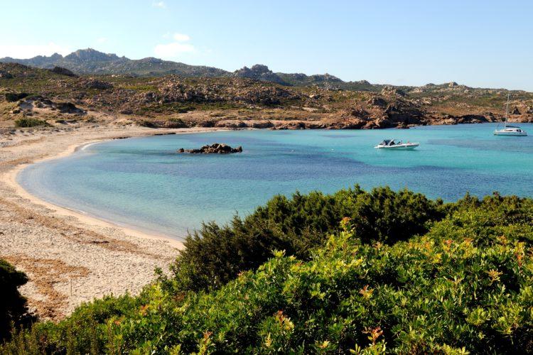 Plage, Stagnolu, naturiste, Bonifacio, Corse