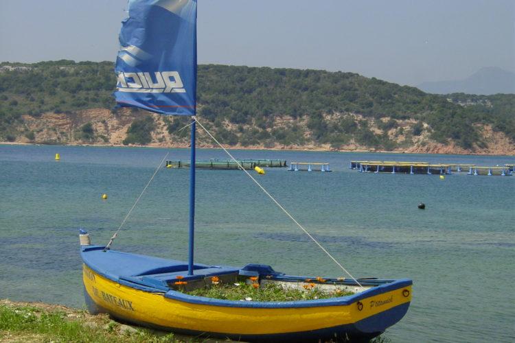 Plage, Sant'Amanza, pêche, Bonifacio, Corse