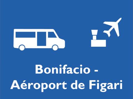 Bus Bonifacio – aéroport de Figari (par Porto-Vecchio)