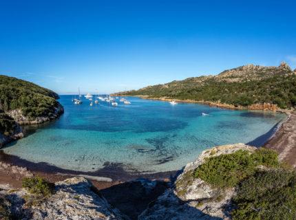 Plage, Paragan, sauvages, Bonifacio, Corse