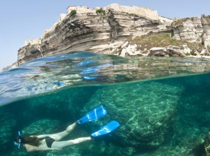 Plage, Sutta Rocca, sauvages, Bonifacio, Corse