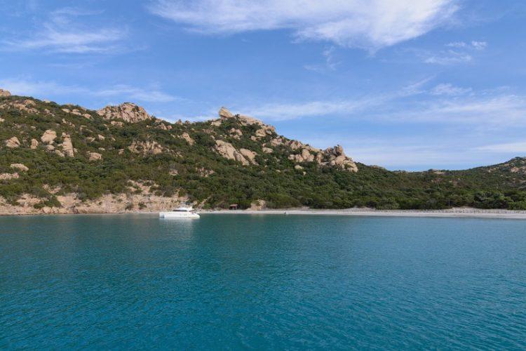 La Cala di Roccapina et sa plage, Corse-du-Sud, France