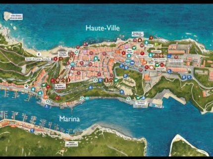 Plan de la ville balade