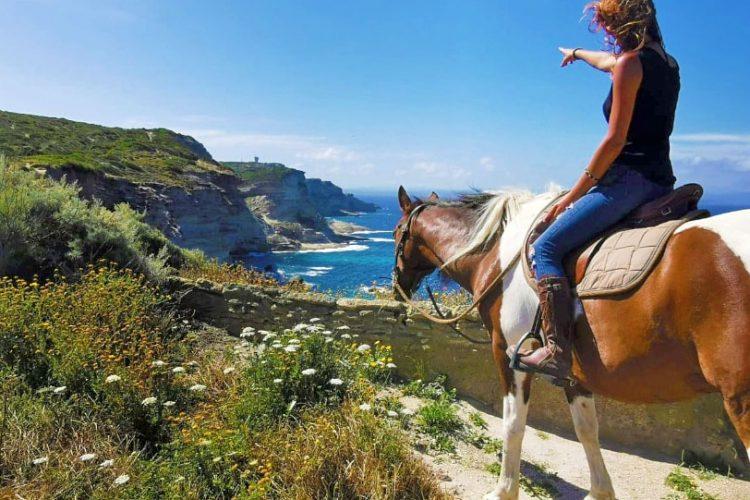 Balade cheval littoral