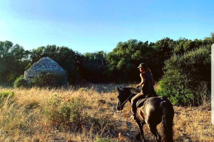 Balade cheval maquis