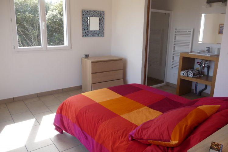 location meublé bonifacio ramos richard piscine canetto (12)chambre