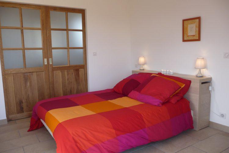 location meublé bonifacio ramos richard piscine canetto (13)chambre
