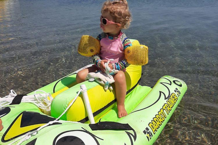 Nouvelle bouée training ski enfant