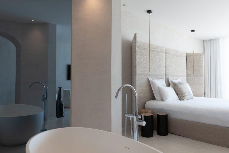 Hôtel Cala di Greco baignoire